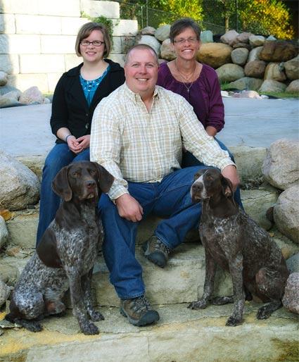 Ries Family Top Gun Kennel